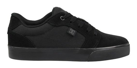 Tenis Dc Shoes Anvil 2 La Bb Black Black