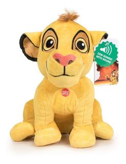 Peluche El Rey León Simba Pumba Timon 30cm Sonidos Original