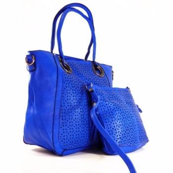 Bolsa Azul Feminina Frete Grátis Para Todo O Brasil