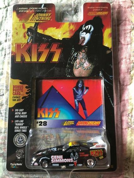 Johnny Lightning Kiss Gene Simmons # 28 Original Replay