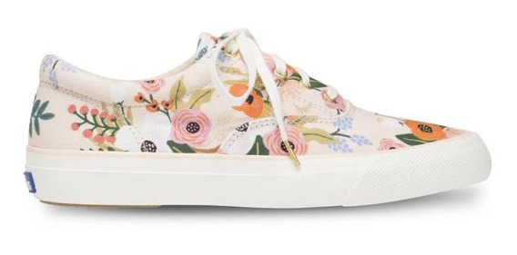 Zapatos Mujer Keds Anchor Rifle Paper Pink Paper Rifle