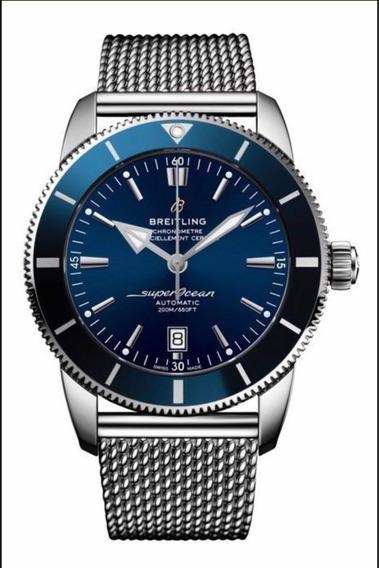 Relógio Eta - Mod. Superocean Steel - Gun Blue Base Eta 2840