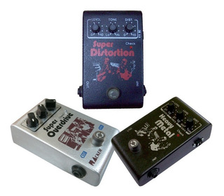 Pedal Efecto Racker Bt Super Overdrive Distorsion Heavy Met