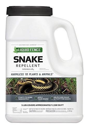 Liquido Valla 75011 Repelente De Serpiente Granular 5 Lb