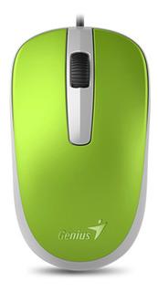 Mouse Genius Dx 120 Usb Optico Ambidiestro Notebook Pc