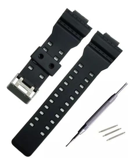 Correa De Reloj Para Casio G-shock 16mm Con Pasadores