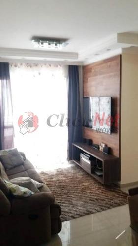 Ótimo Apartamento À Venda No Bairro Mauá Em São Caetano - 6969
