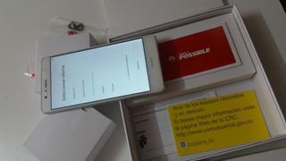 Huawei P9 Lite Blanco 16 Gb Memoria En Excelente Estado