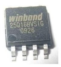 05 Chip Virgem - Winbond W25q16bvssig Sop8