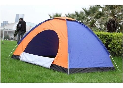 Imagen 1 de 2 de Carpa De Camping Para 4 Personas Impermiable Reforzada