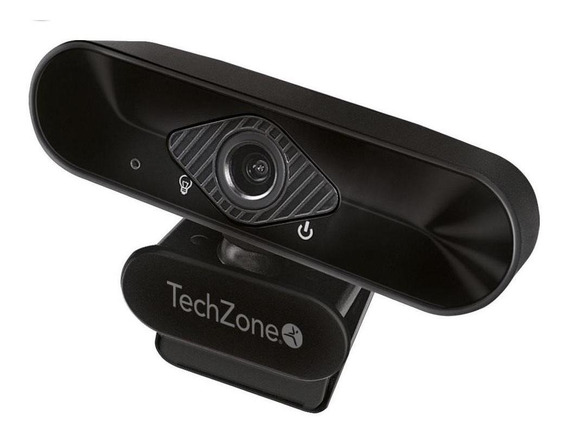 Camara Web Techzone Usb Fhd 30fps Micrófono Integrado