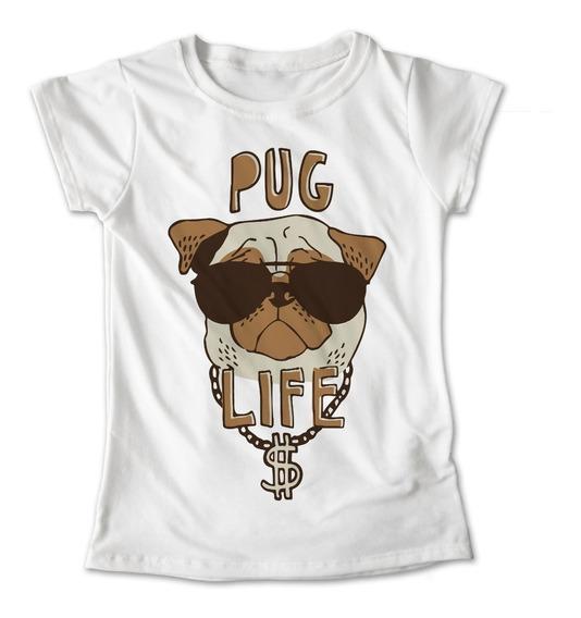 Blusa Pug Colores Playera Perro Pug Life #415