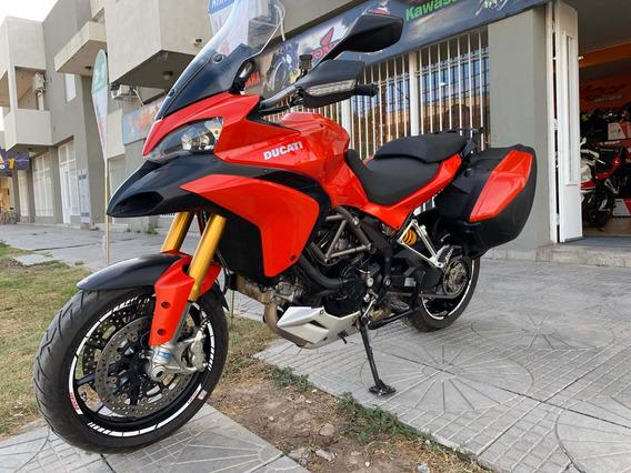 Ducati Multistrada 1200 Stouring Equipada