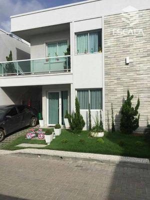 Casa Com 3 Quartos À Venda, 135 M² , Área De Lazer, Móveis Projetados - Lagoa Redonda - Fortaleza/ce - Ca0146