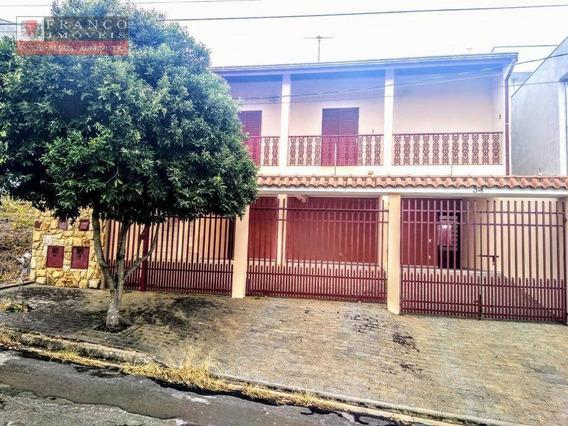 Casa Com 3 Dormitórios Para Alugar, 140 M² Por R$ 1.700,00/mês - Jardim Panorama - Valinhos/sp - Ca0622