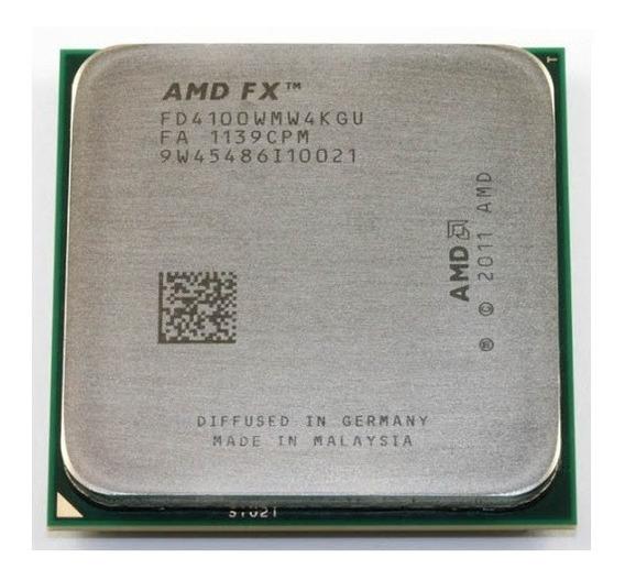 Processador Amd Fx 4100 3.6ghz Am3+ Quad Core Black Edition