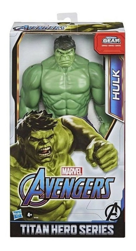 Imagem 1 de 4 de Boneco Hulk Titan Hero Deluxe - Hasbro