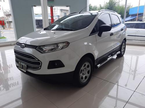 Ford Ecosport Se 1.6 Mt 2014 Blanco 120.000 Km. Con Gnc