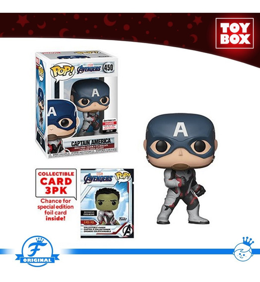 Funko Marvel - Endgame: Capitan America C/tarjetas (ee)