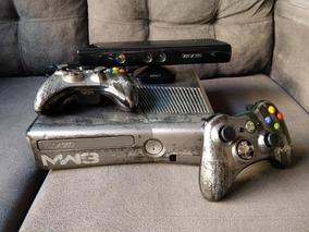 Xbox 360 Mw3 Edition Bloqueado + Kinect + Jogos