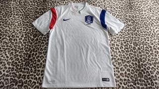 Raridade: Camisa Oficial Da Nike Da Seleção Da Coréia Do Sul