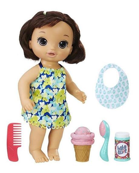 Baby Alive Sobremesa Mágica Morena - Hasbro