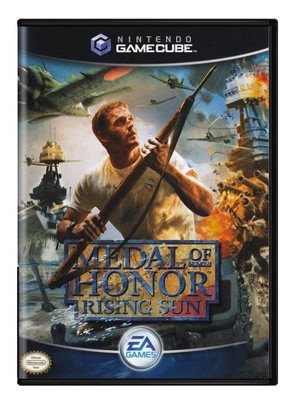 Medal Of Honor Rising Sun Gamecube Mídia Física