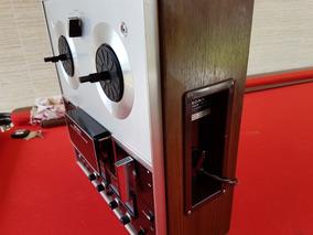 Gravador De Rolo - Deck Sony - 04 Canais - Funcionando