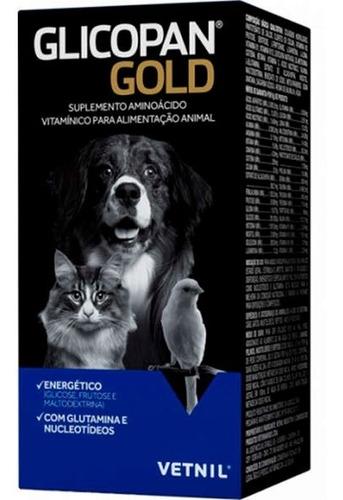 Imagem 1 de 1 de Glicopan Gold  250ml - Vetnil  Suplemento Vitamínico