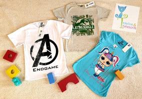 Camisetas Niños, Batman, Hulk, Cars, Paw Patrol, Star Wars