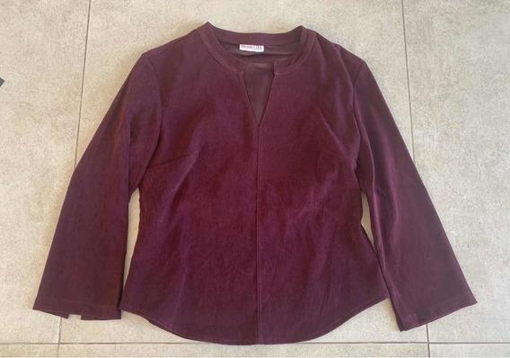 M6. Buzo Sweater Mujer Importado Marca Zoe Violeta