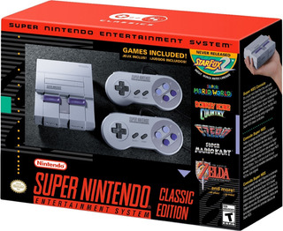 Consola Super Nintendo Snes Mini Classic Mario Original Msi