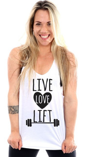 Regata Cavada Live Love Lift Fitness Feminina