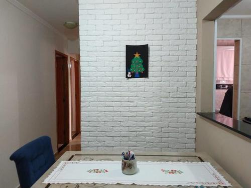 Imagem 1 de 12 de Apartamento Com 3 Dormitórios À Venda, 72 M² Por R$ 371.000 - Vila Palmares - Santo André/sp - Ap5862