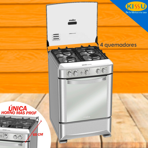 Cocina Mabe A Gas Ultimate 4q Grill 60cm Parrilla Hierrro