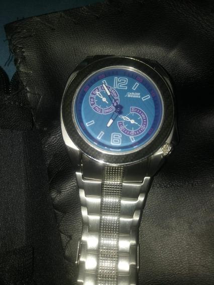 Relógio Chilli Brand Pulseira Em Aço Semi Novo