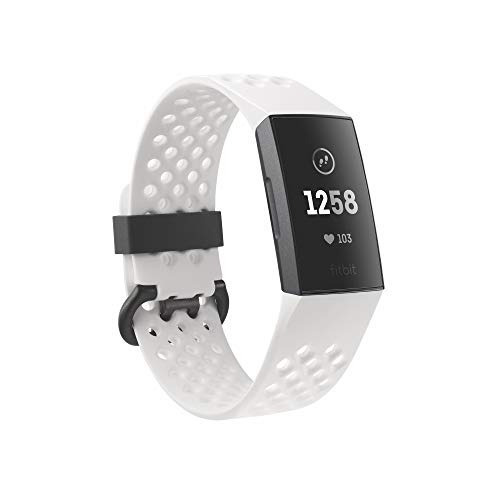 Fitbit Fitness Bracelet Enabled Charge White Aluminum 6398