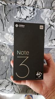 Smartphone Xiaomi Mi Note 3 6gb Ram 128gb + Película + Capa