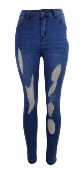 Pantalones Entubados Mujer Rasgados Mercadolibre Com Mx