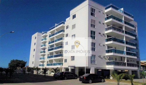 Imagem 1 de 15 de Apartamento 3 Quartos, Condomínio Com Infraestrutura/ Recreio - Praia De Costazul/ Rio Das Ostras! - Ap0519