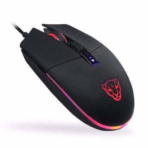 Mouse Motospeed V50 Rgb Gamer Com Macro