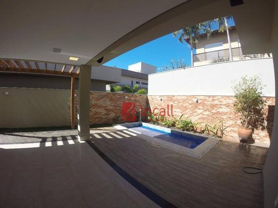 Casa Com 4 Dormitórios À Venda, 270 M² Por R$ 1.800.000,00 - Residencial Quinta Do Golfe - São José Do Rio Preto/sp - Ca1544