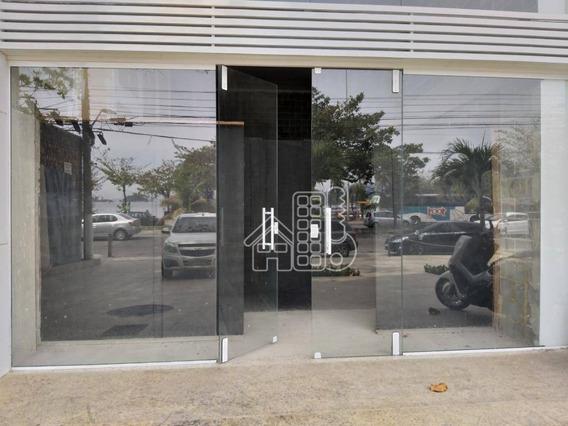 Loja Para Alugar, 48 M² Por R$ 6.500/mês - Charitas - Niterói/rj - Lo0091