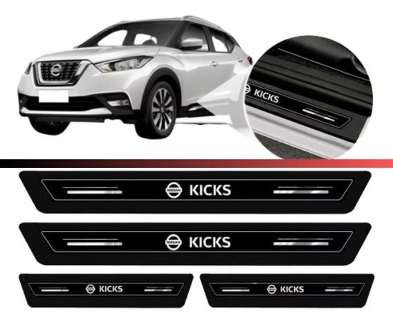 Soleira Protetora Porta Novo Nissan Kicks 2019 2020 Pcd