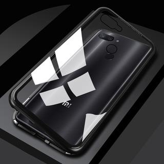 Capa Metal Boa Magnética Xiaomi Mi 8 Lite + Película 5d Full