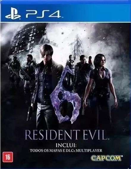 Resident Evil 6 Ps4 Midia Fisica Original Lacrado