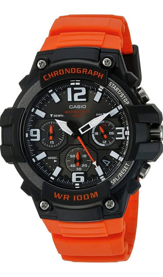Reloj Casio Digital Heavy Duty Chronograph Para Hombres 49mm