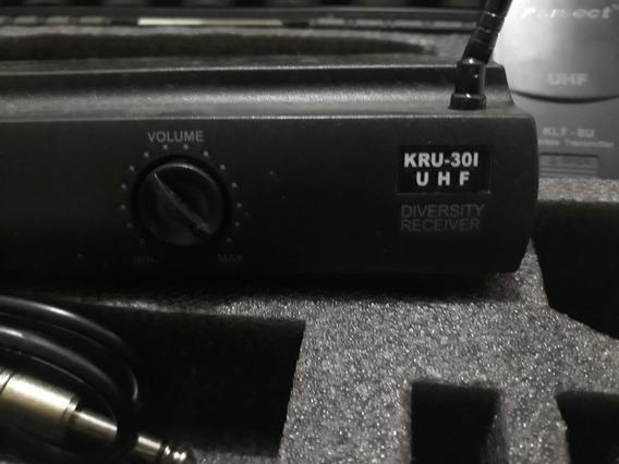 Transmissor Sem Fio P Instrumentos Karsect 301 (pouco Usado)