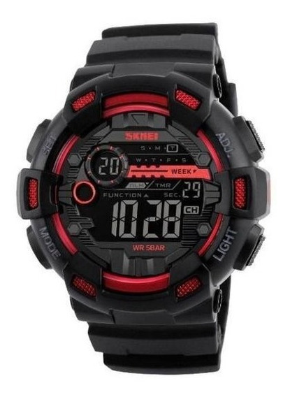 Relógio De Pulso Esportivo Skmei 1234 Militar A Prova D Agua