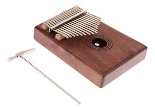 17 Note Kalimba Thumb Piano Finger Percussion Para Niños